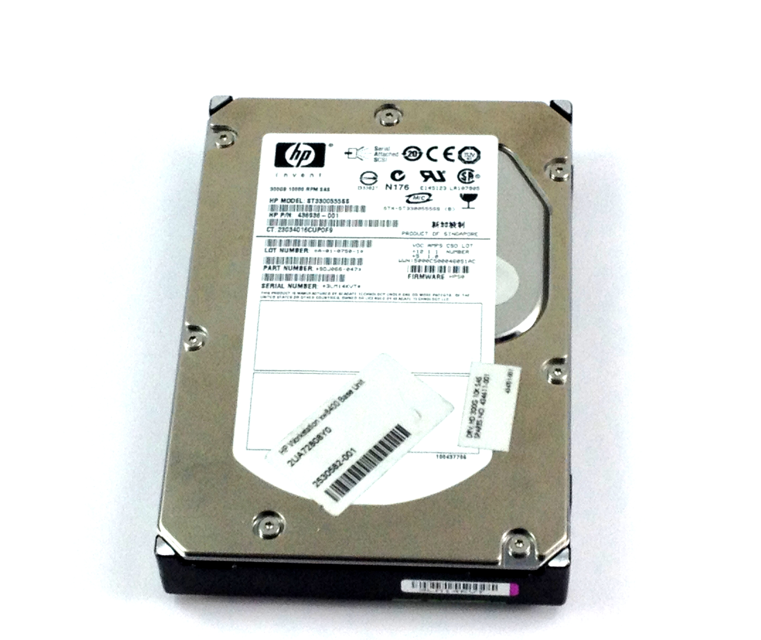 HP 300GB 10K 3Gbps SAS 3.5'' Hard Drive (434611-001)