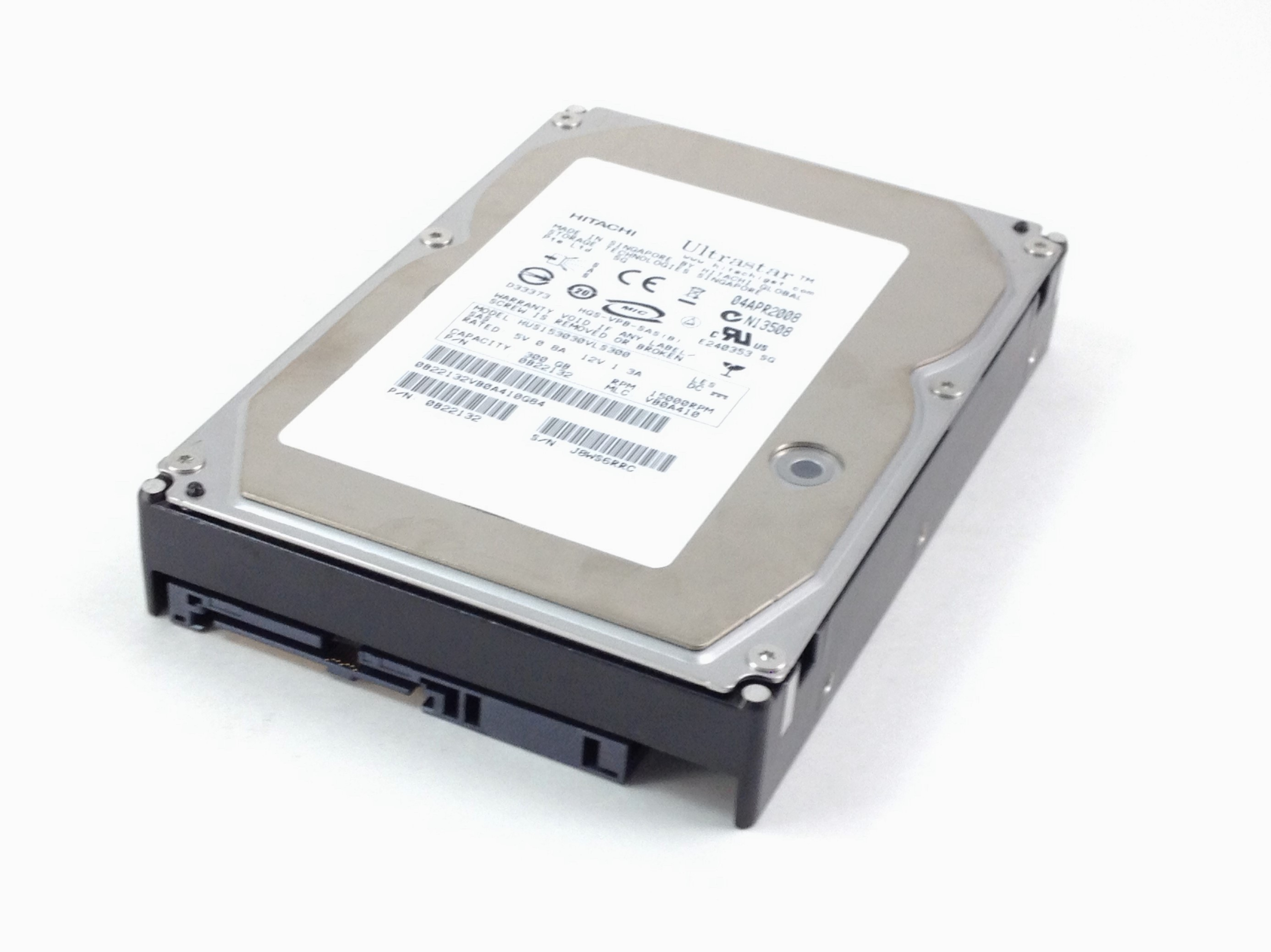 Hitachi Ultrastar 300GB 15K SAS 3.5'' Hard Drive (0B22132)