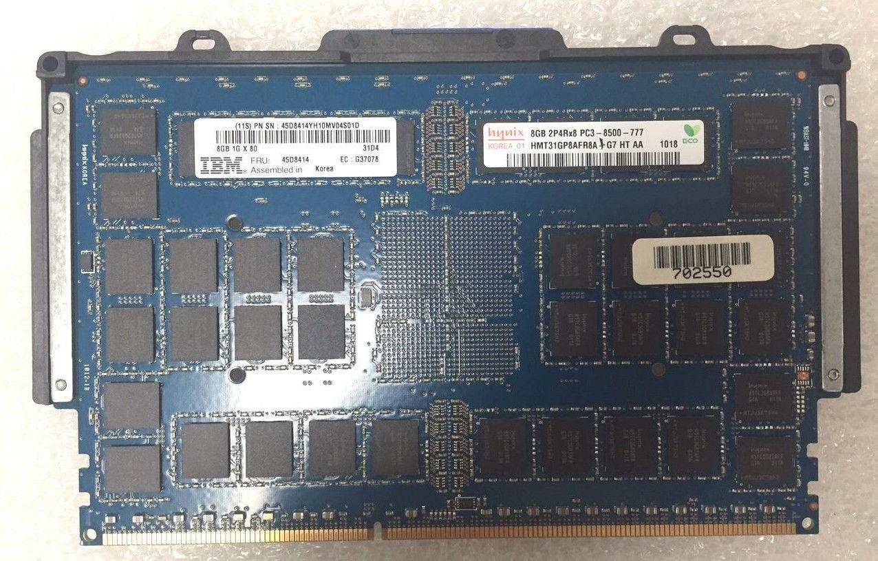 IBM 9117-Mmc 9179-Mhc 8GB DDR3 Power Memory (45D8414)