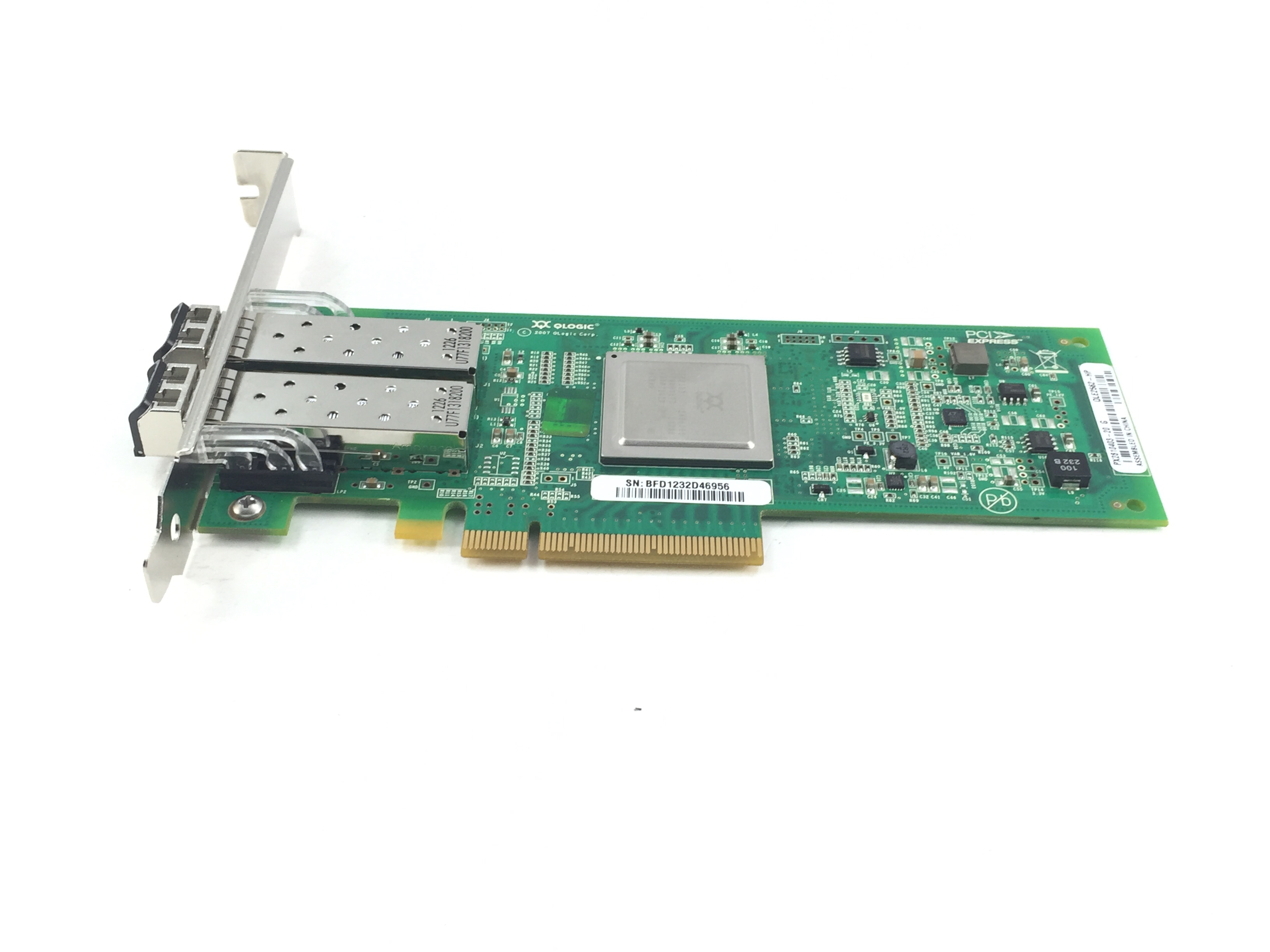 HP Qlogic QLE2562 82Q 8GB PCI-E Dual Port Fibre HBA (489191-001)