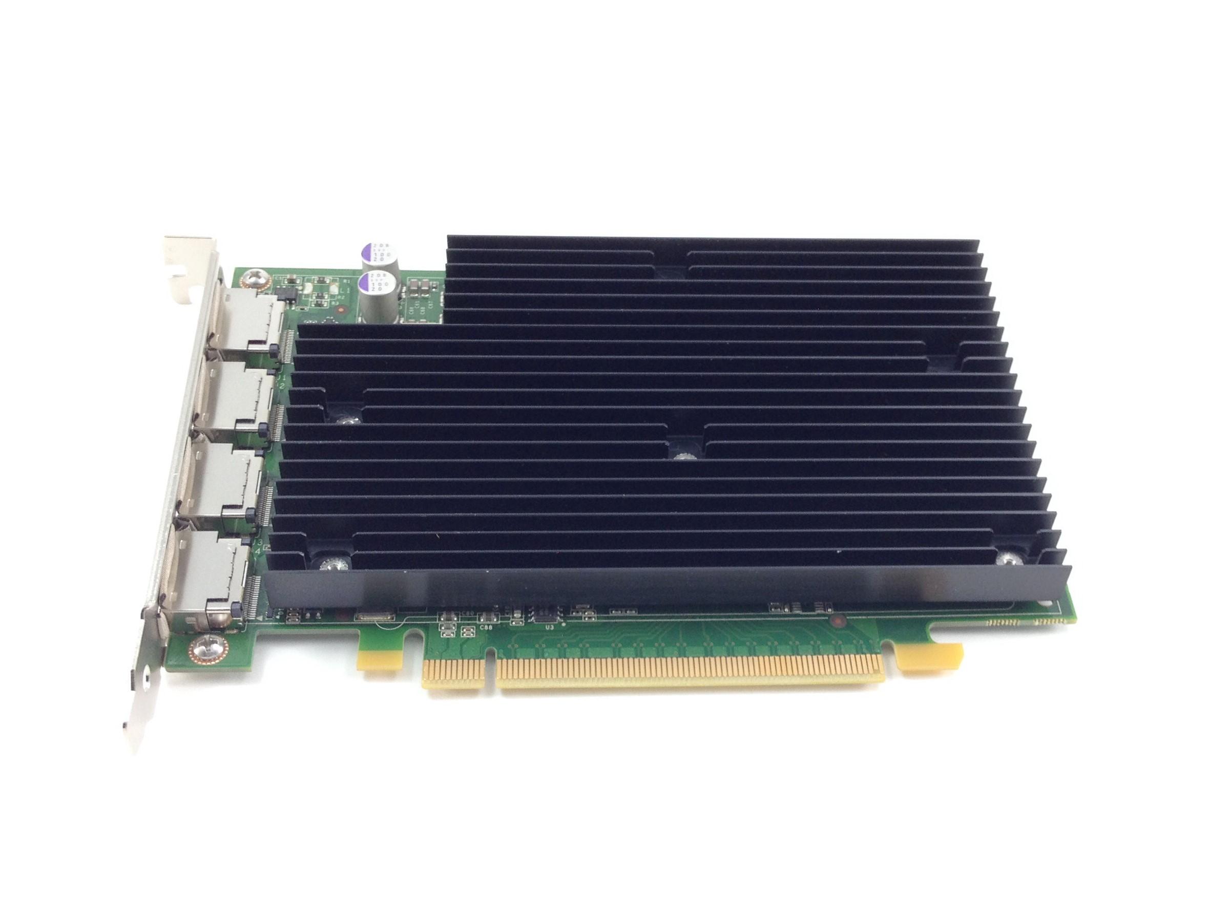 HP Nvidia Quadro NVS450 512MB PCI-E 4-Port Graphics Card (492187-001)