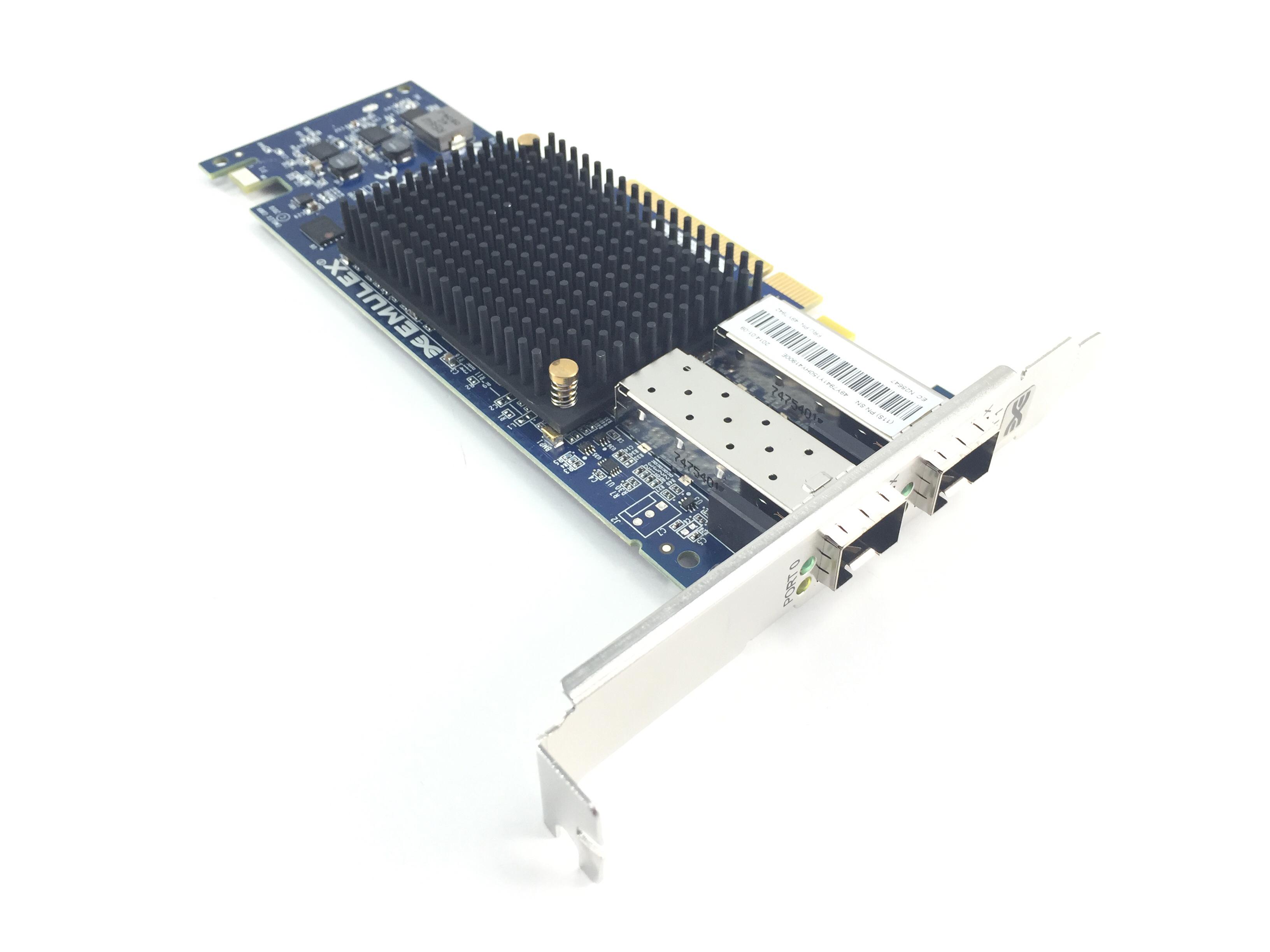 IBM Emulex 10Gbe Dual Port PCI-E 2.0 X 8 Virtual Fabric Adapter (49Y7942)