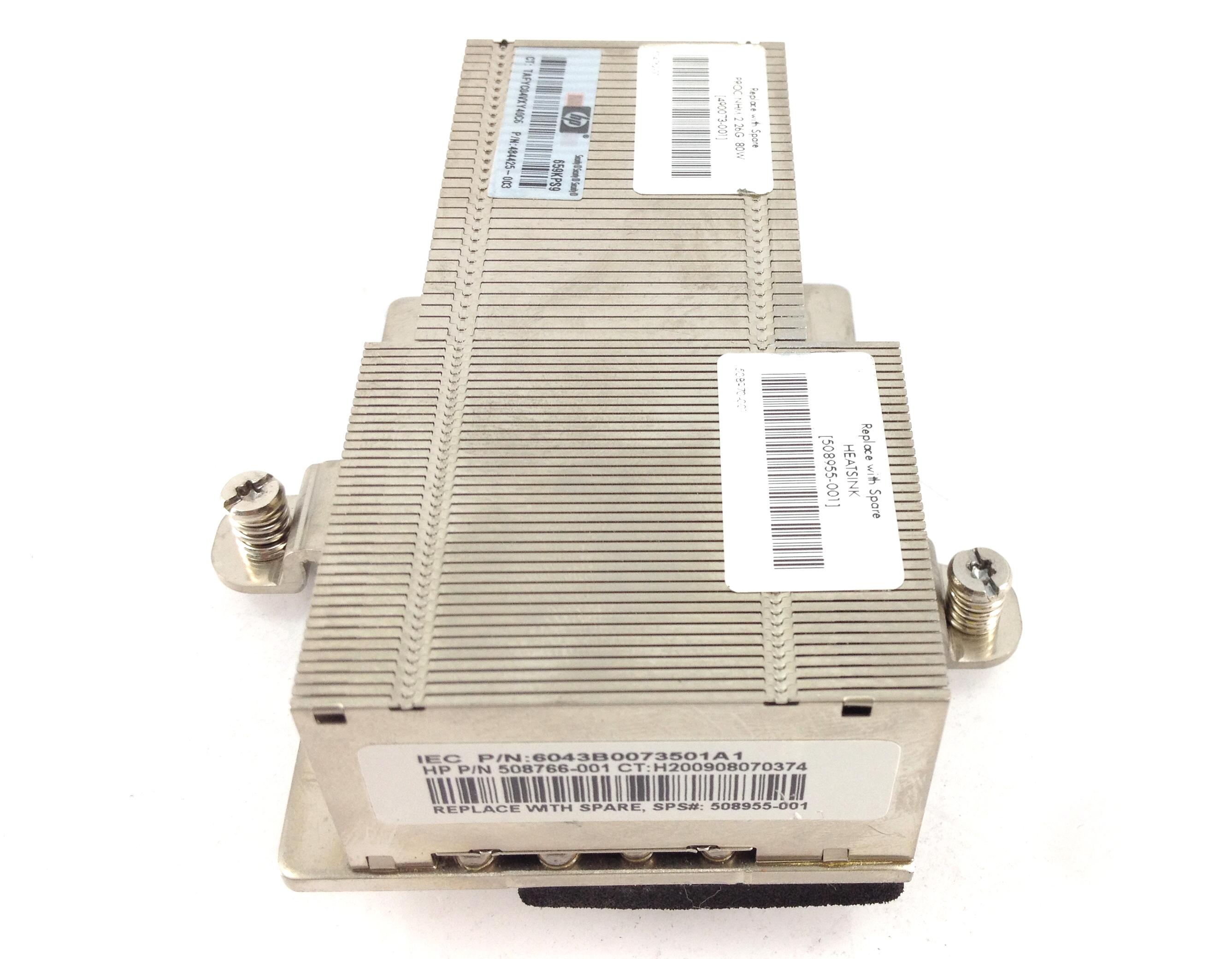HP Bl460C G6 Heatsink (508955-001)