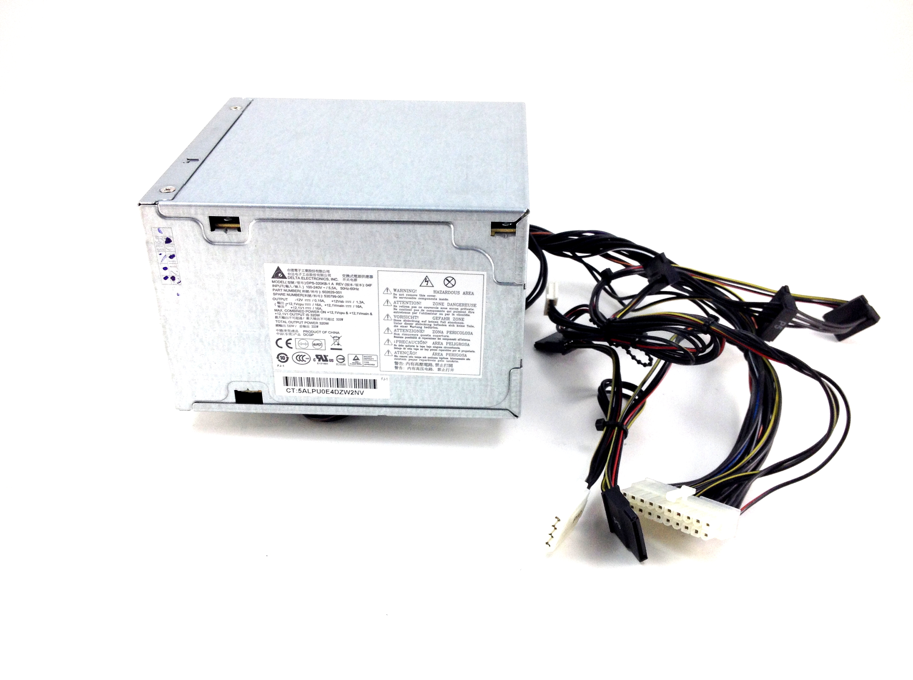 HP Z200 WorkStation 320W Delta Power Supply (535799-001)