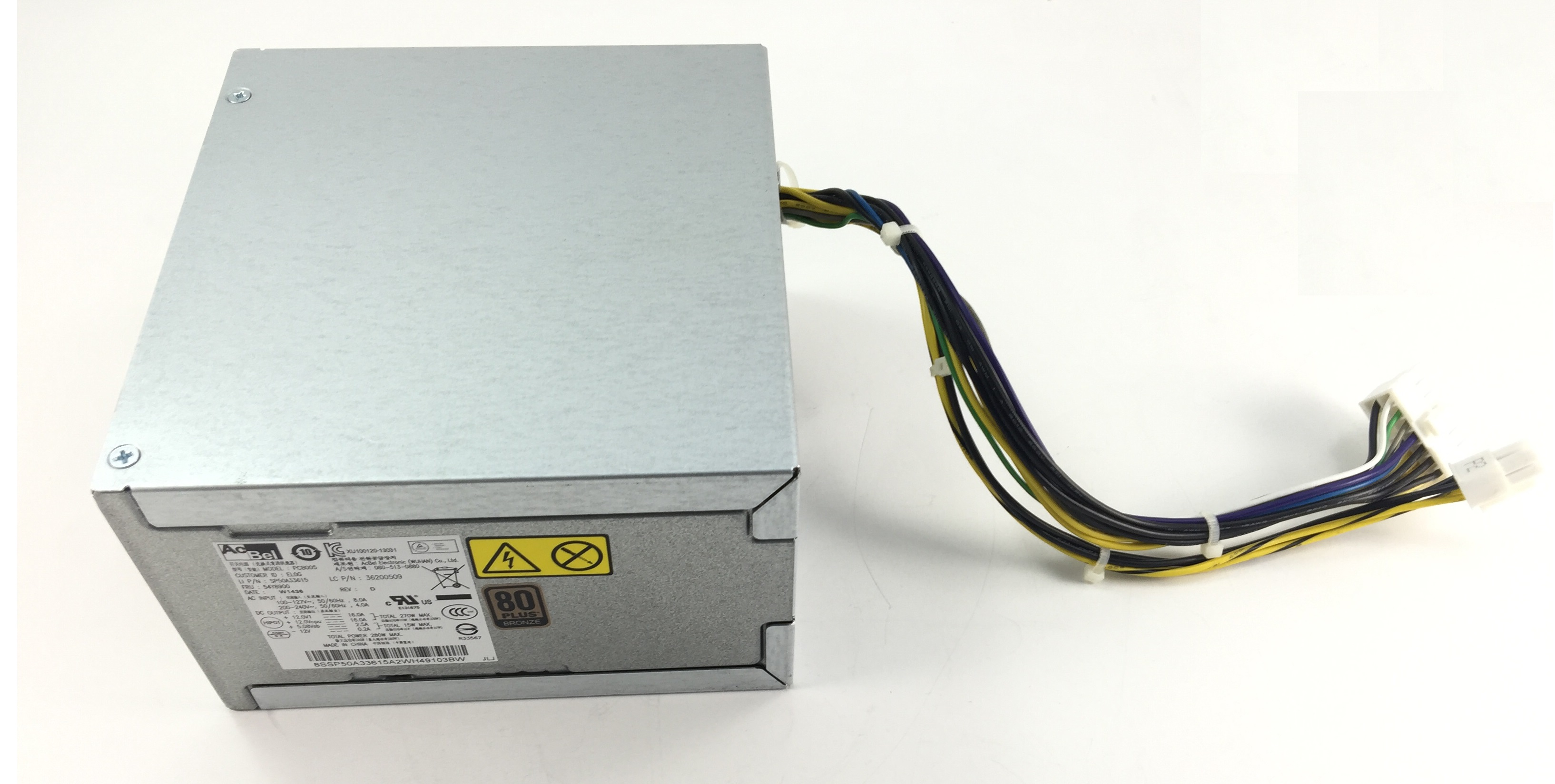 LENOVO THINKSERVER TS140 280W POWER SUPPLY (54Y8900)
