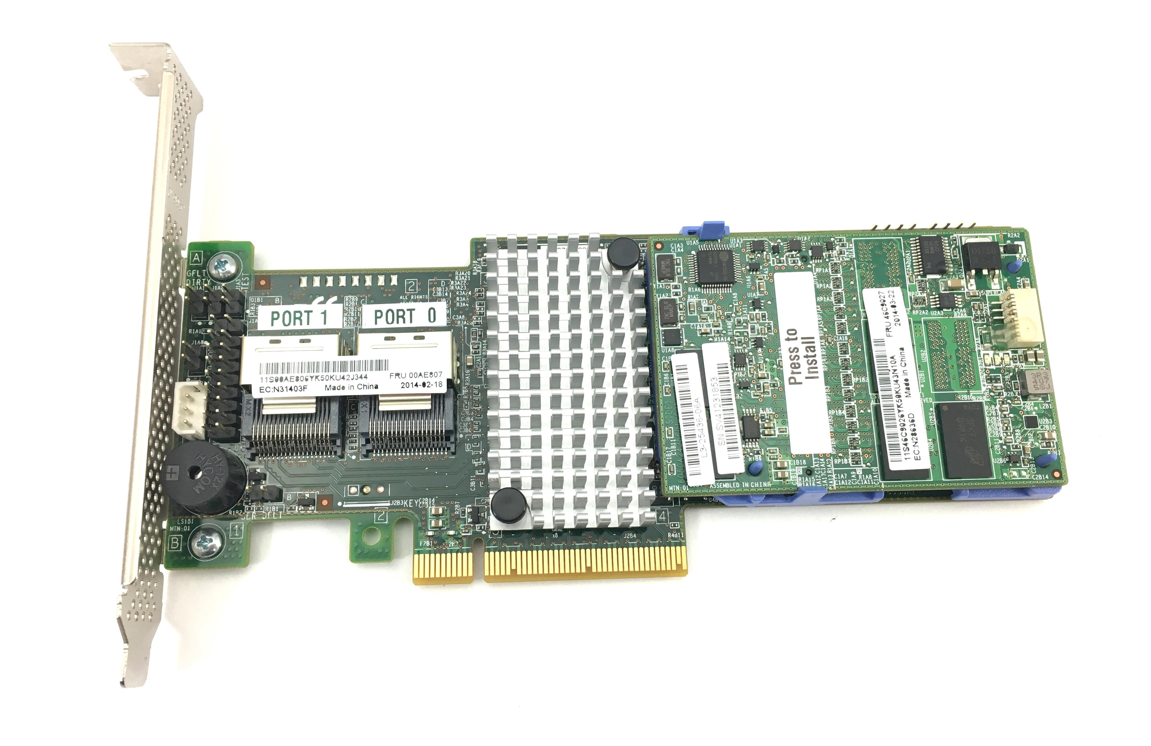IBM SERVERAID M5110 6GBPS SAS/SATA RAID CONTROLLER (00AE807)
