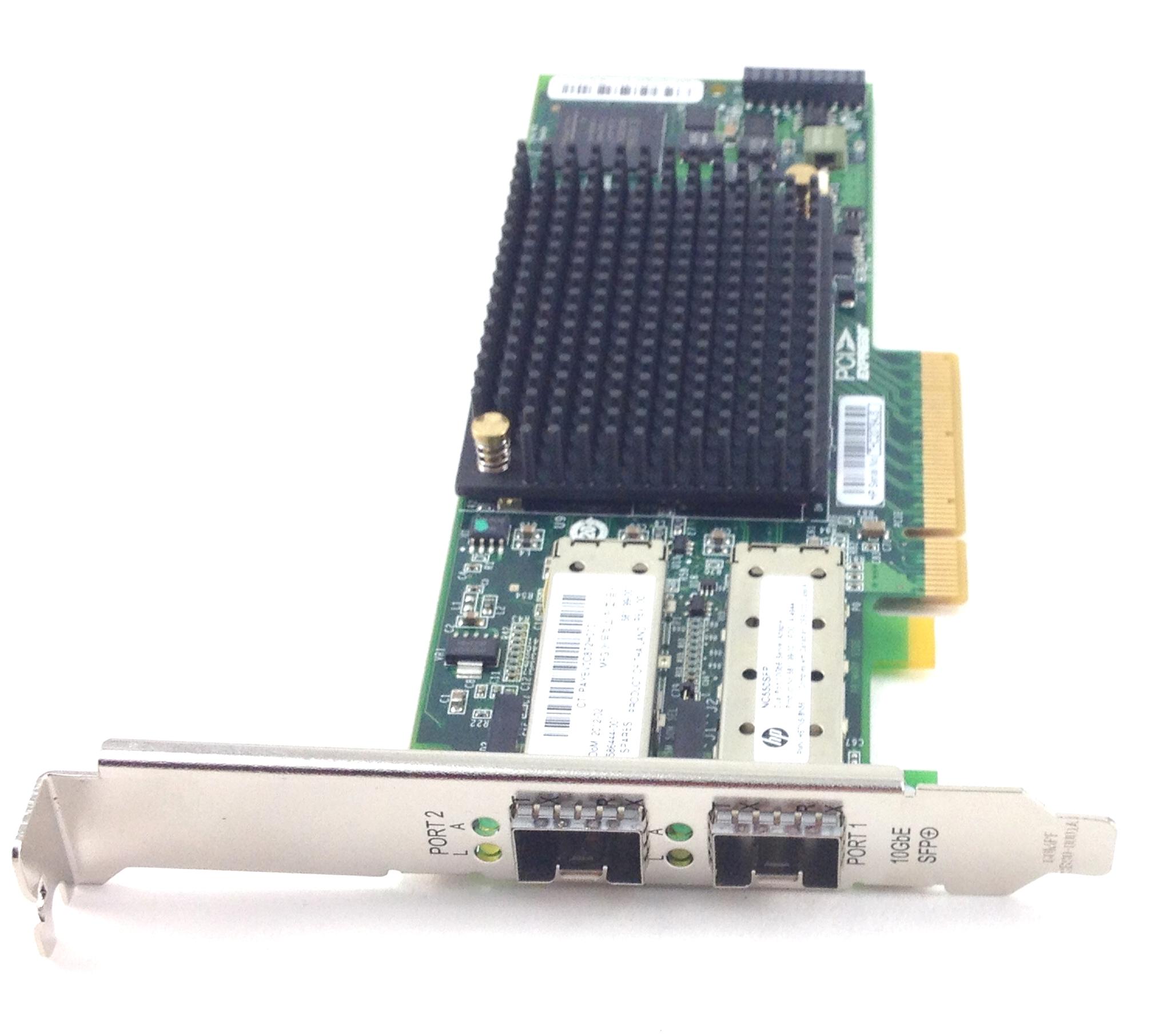DUAL PORT 10GBE PCI-E 2.0 SERVER ADAPTER (586444-001)