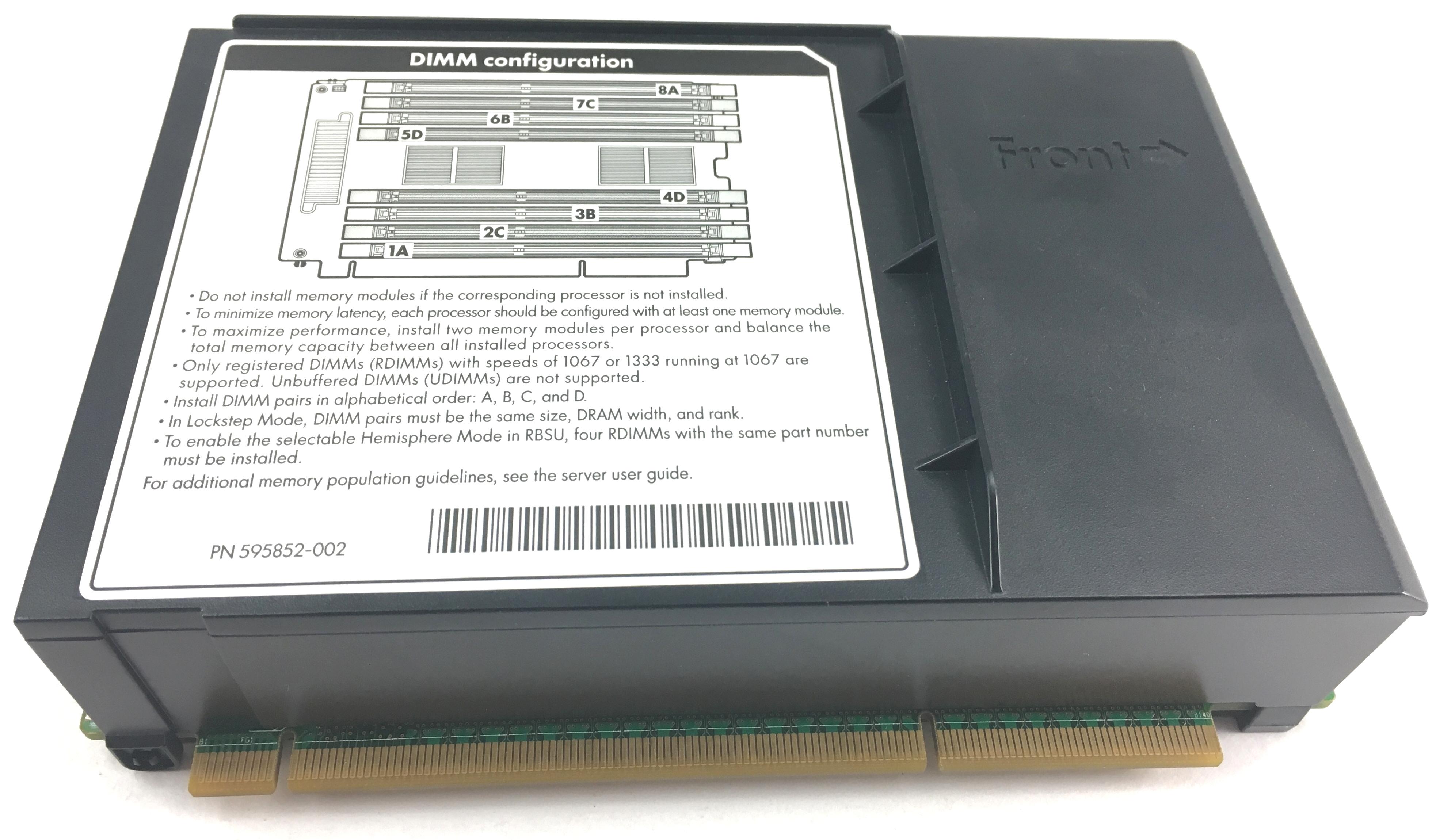 HP DL580 G7 Memory Riser Board (591198-001)