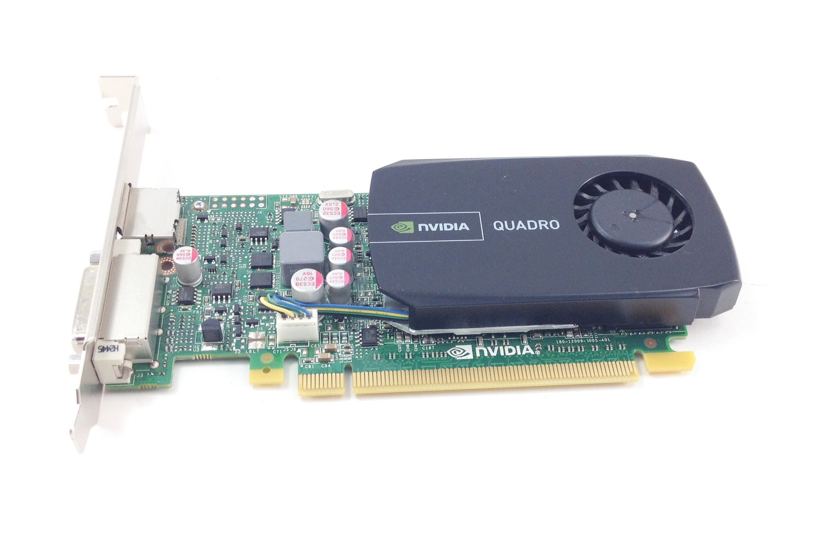 DELL NVIDIA QUADRO 600 PCI-E X16 1GB GDDR3 GRAPHICS CARD (5YGHK)