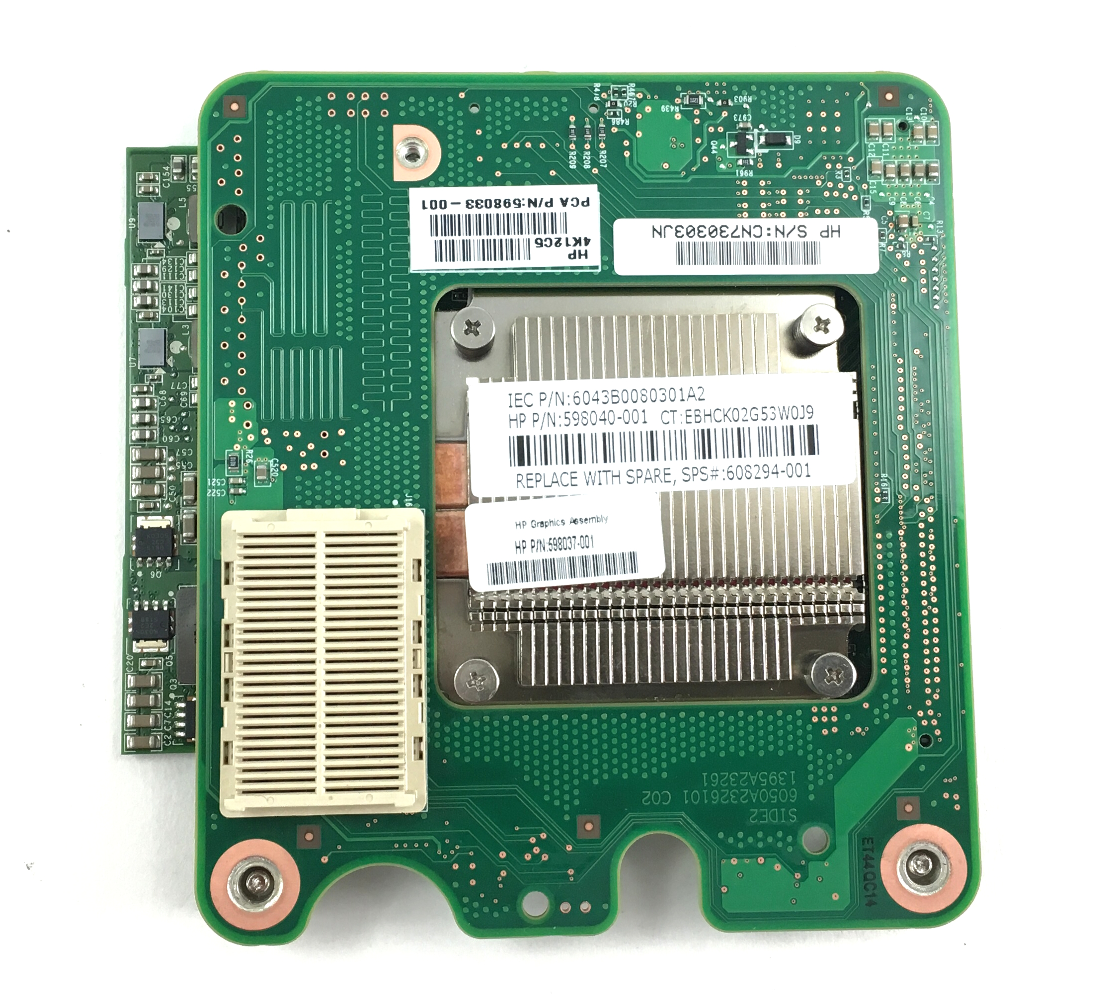 Quadro FX 2800M 1GB Mez Gfx Graphics Card (608294-001)