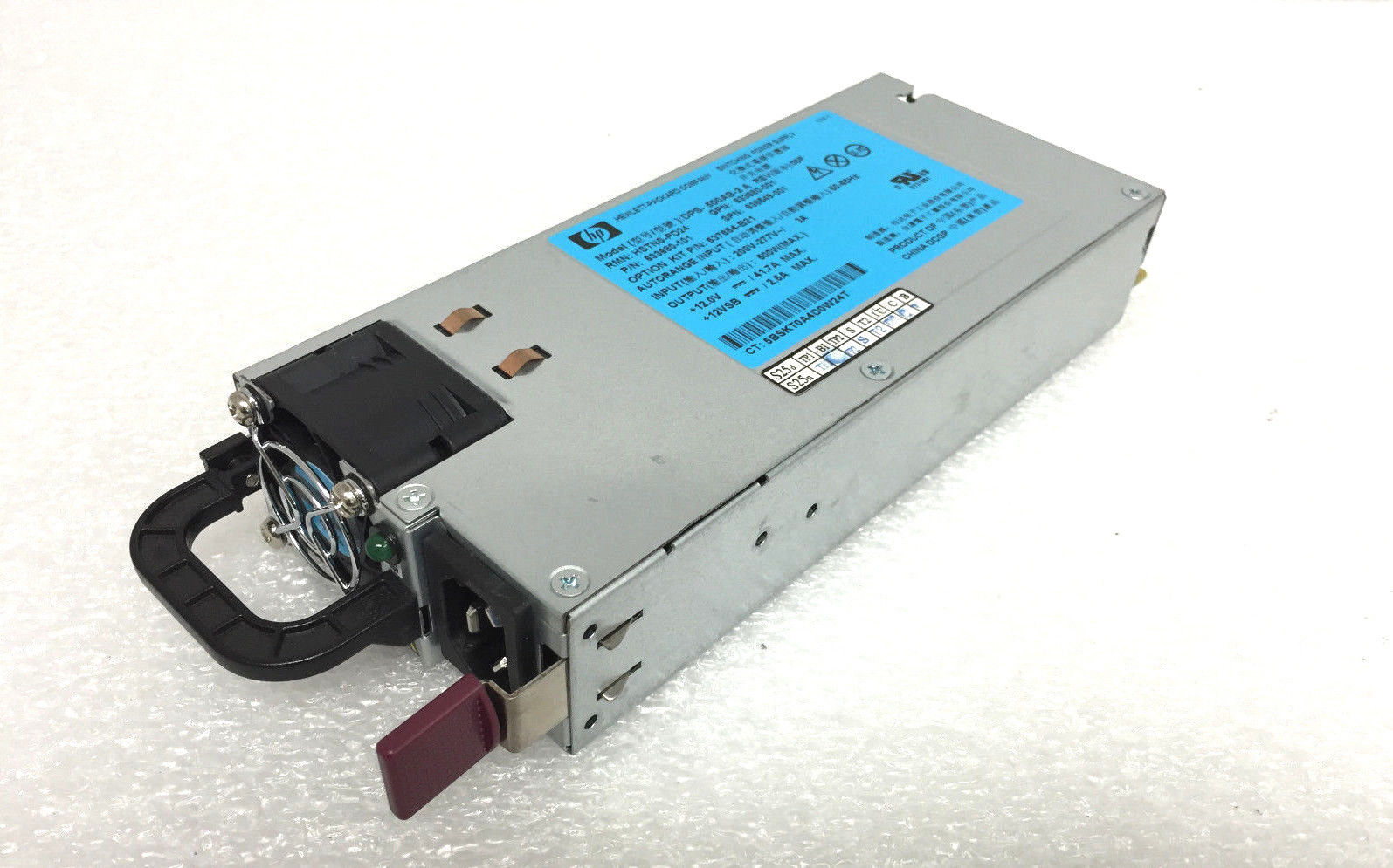 HP Proliant DL G7/G8 Series 500W Power Supply (638549-001)