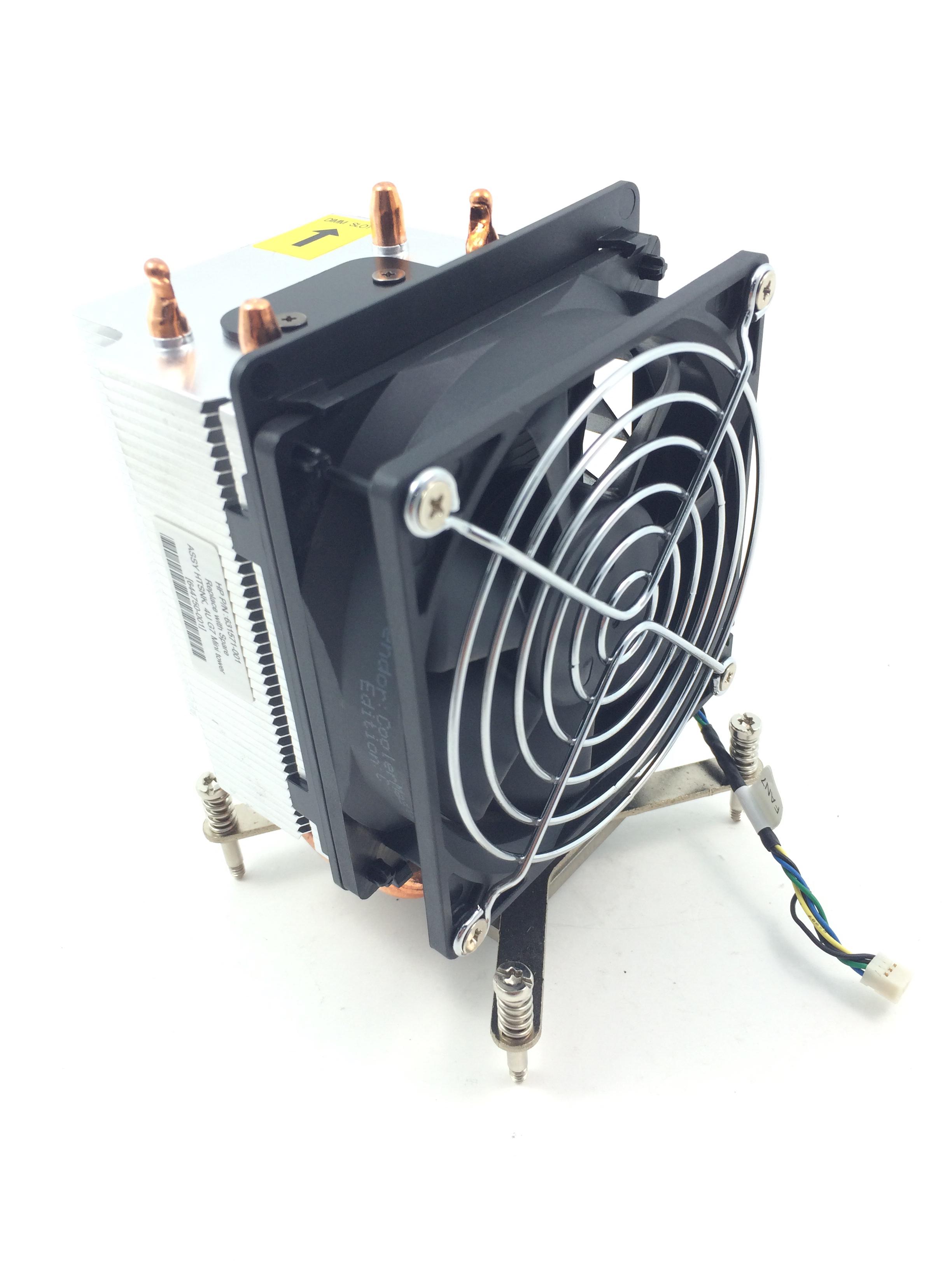 HP ML110 G7 Mini Tower Heatsink w/ Fan (644750-001)