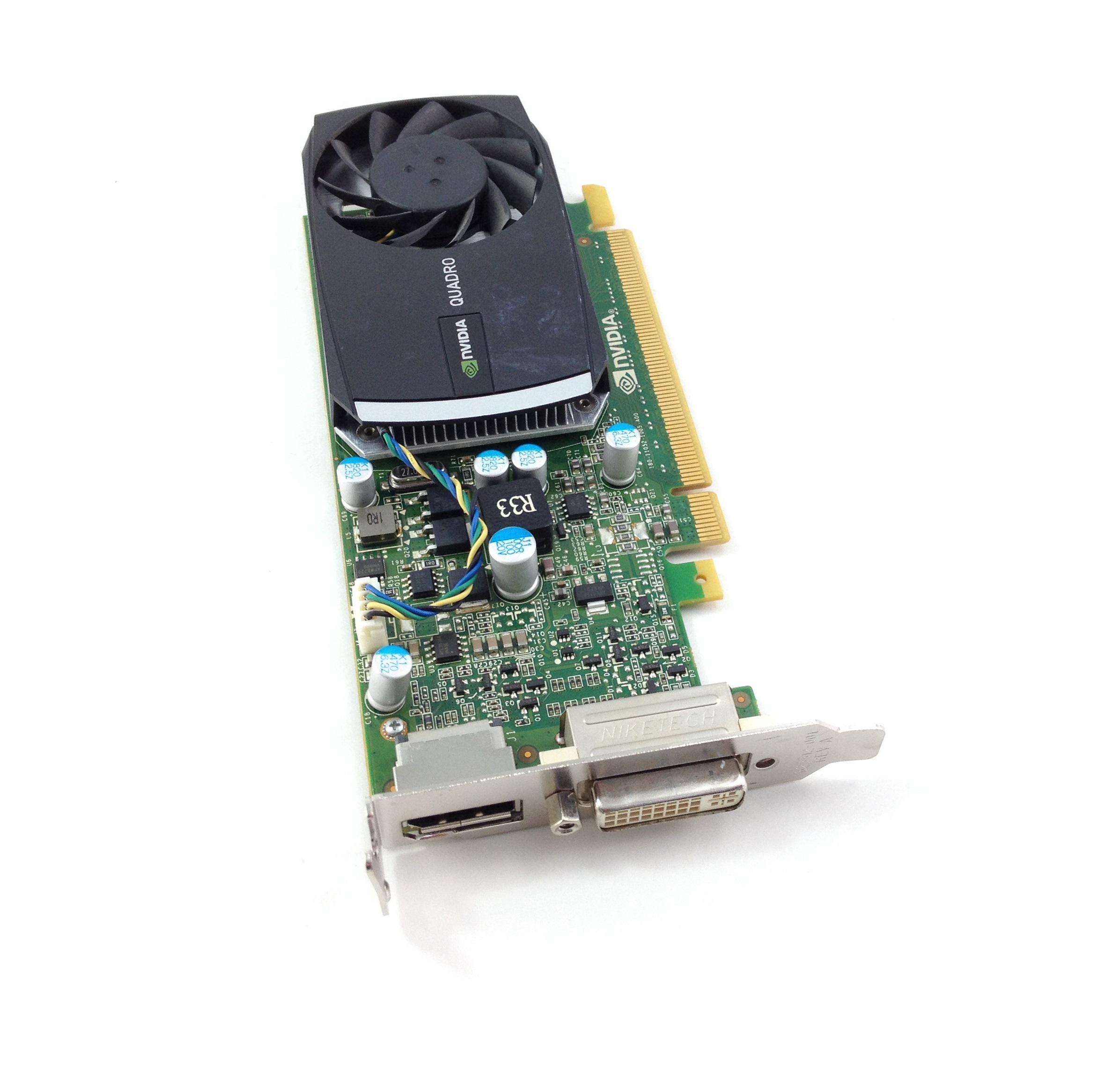 HP NVIDIA QUADRO 400 512MB PCI-E VIDEO GRAPHICS CARD (645557-001)