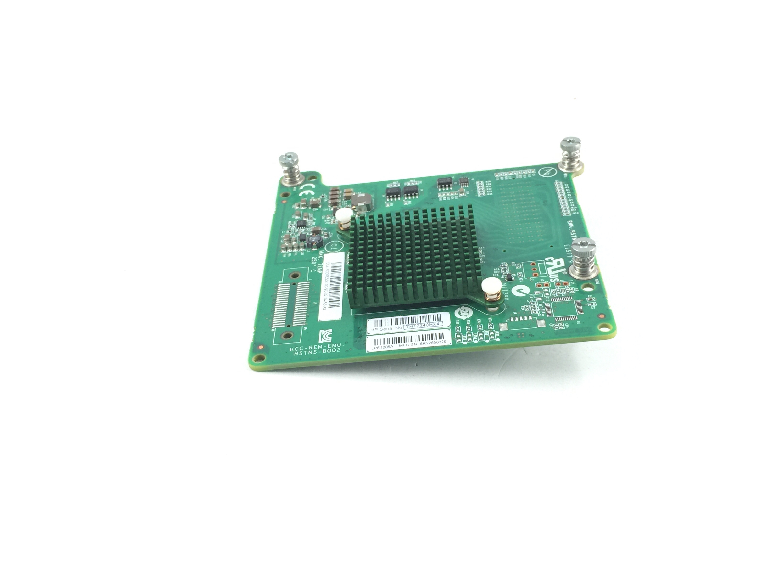 HP LPE1205A 8GB DUAL FIBRE CHANNEL PCI-E HBA (662538-001)