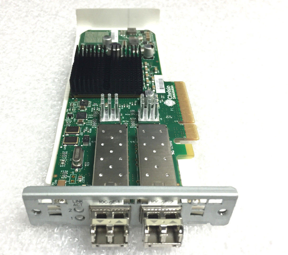 Chelsio Comunications 10GB 2-Port PCI-E Opt Adapter Card (110-1088-30)