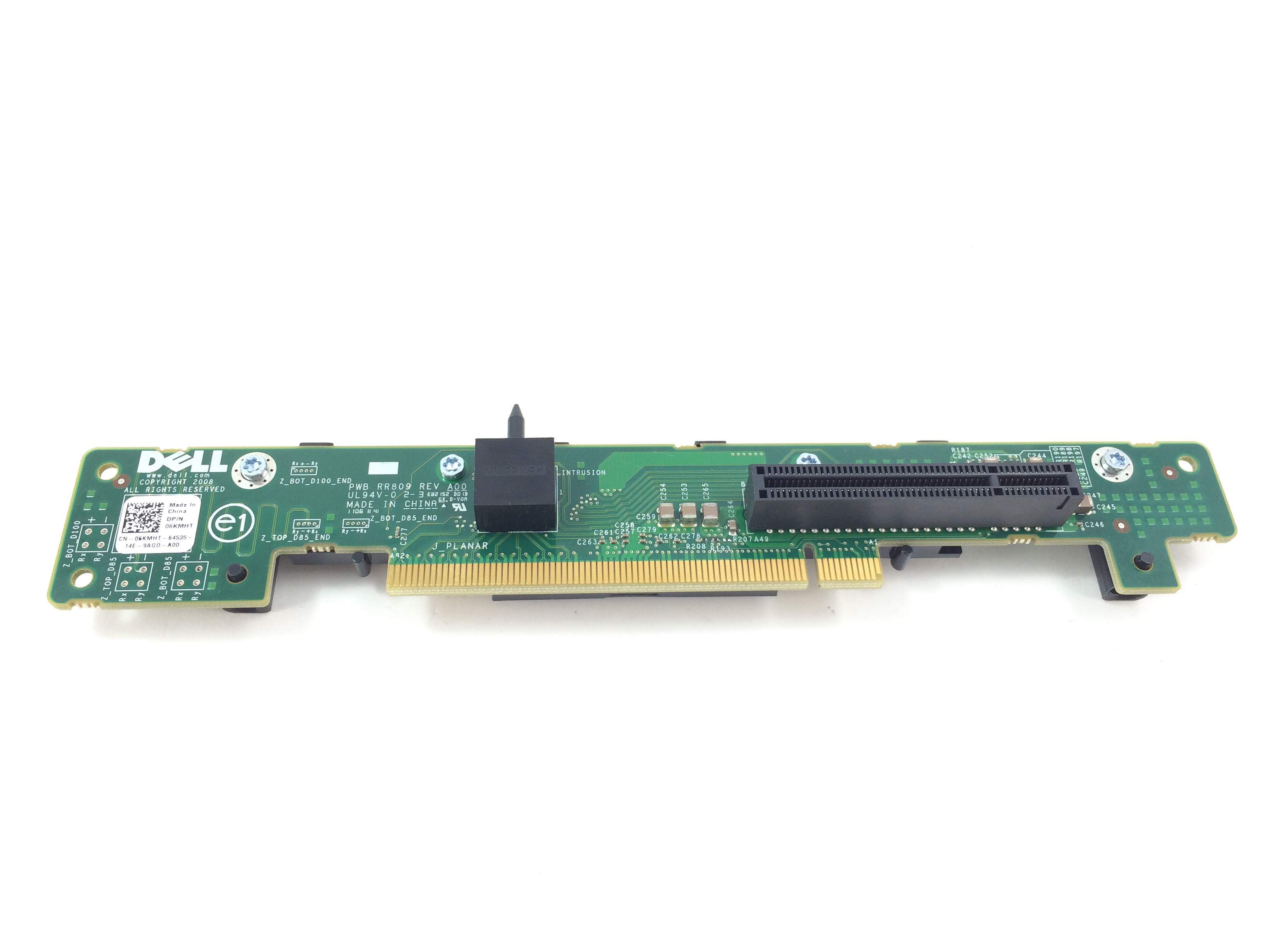 Dell PowerEdge R610 PCI-E 8X Left Riser Card (6KMHT)