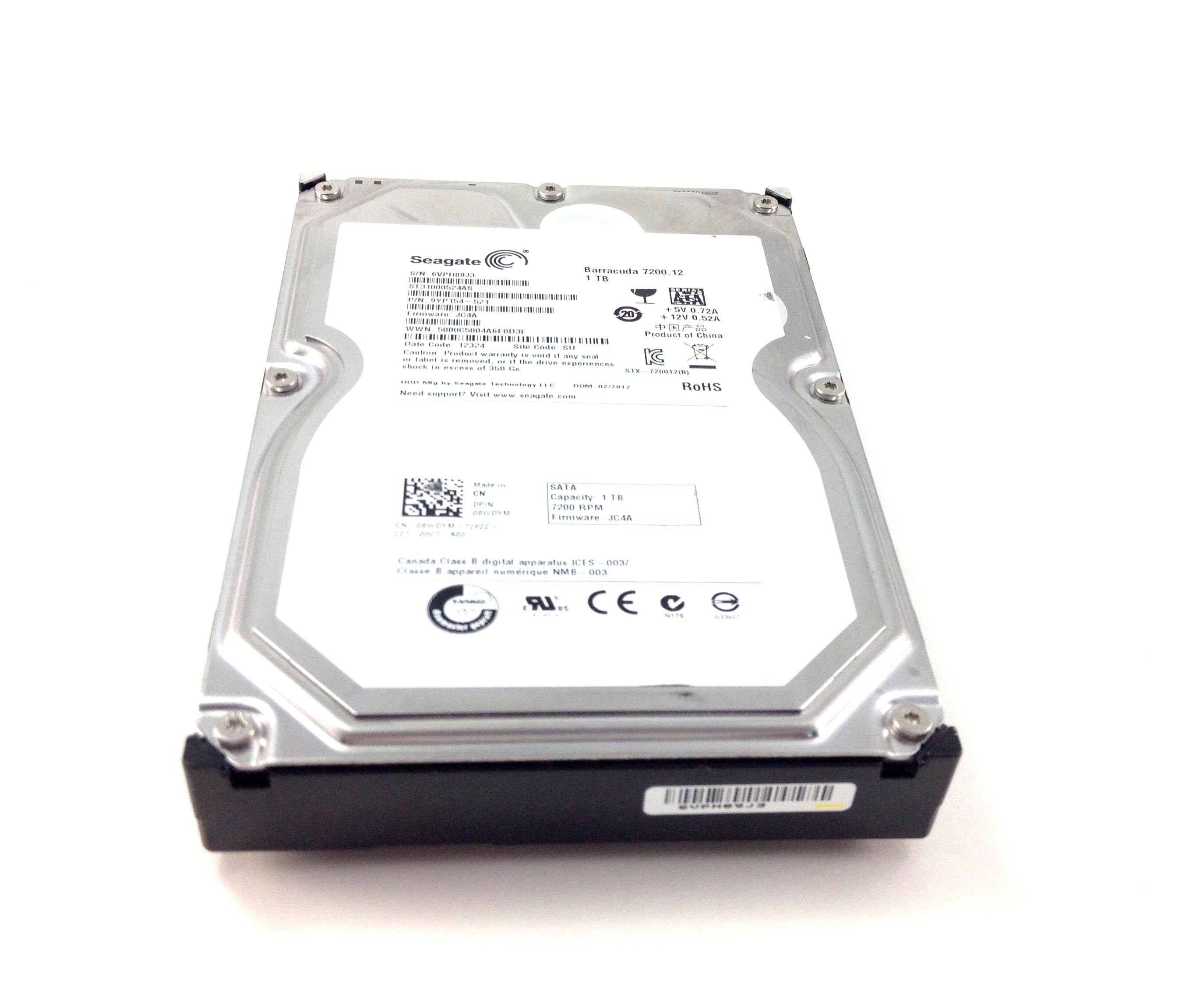 Dell 1TB 7.2K 6Gbps SATA 3.5'' Hard Drive (8WDYM)