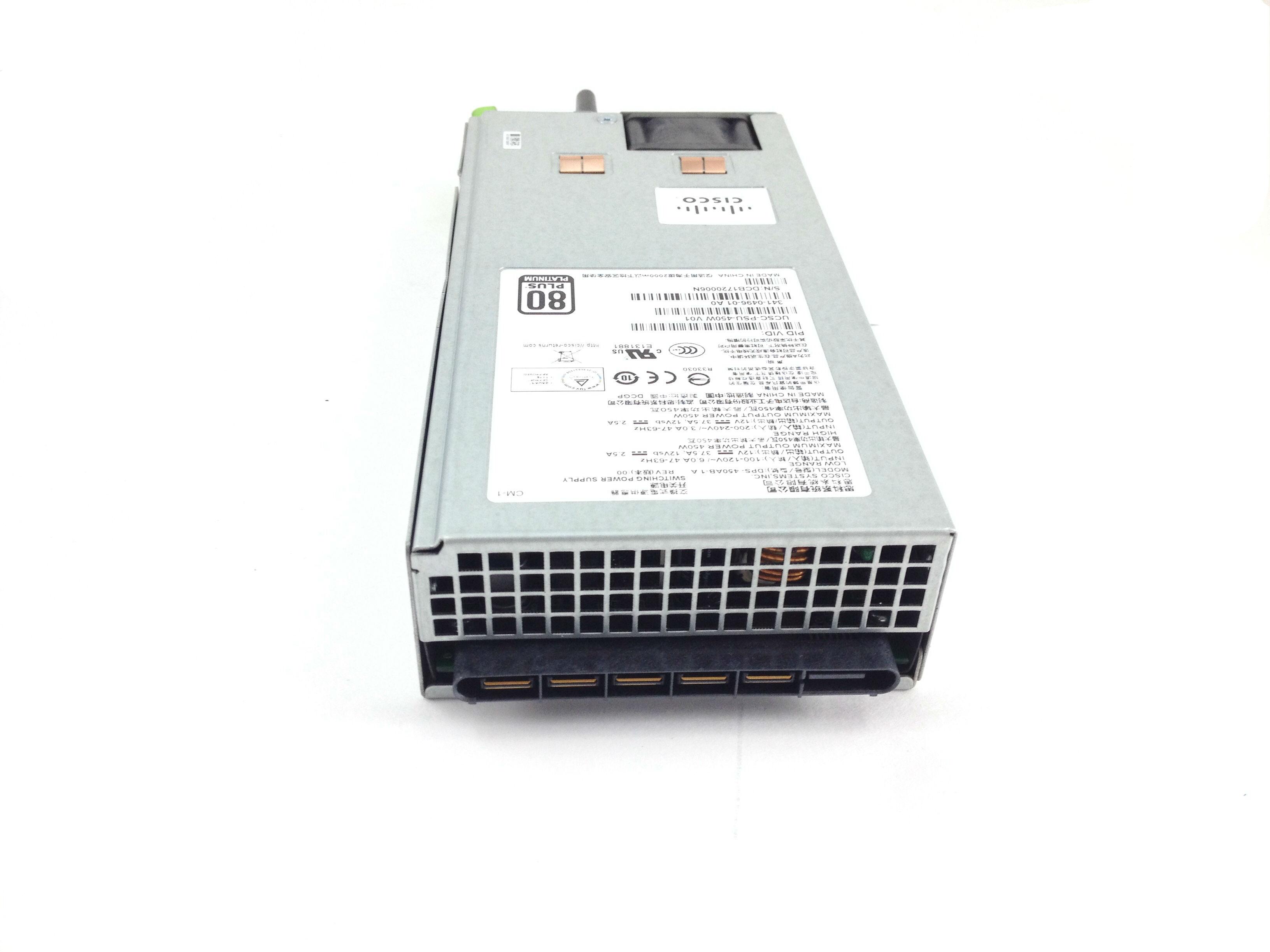 A Cisco UCS C220 M3 450W Power Supply (DPS-450AB-1 A)