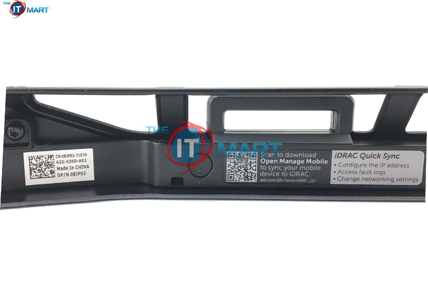 Dell PowerEdge R630 Sewcurity Bezel W/ iDRAC Quick Sync (8JP02)