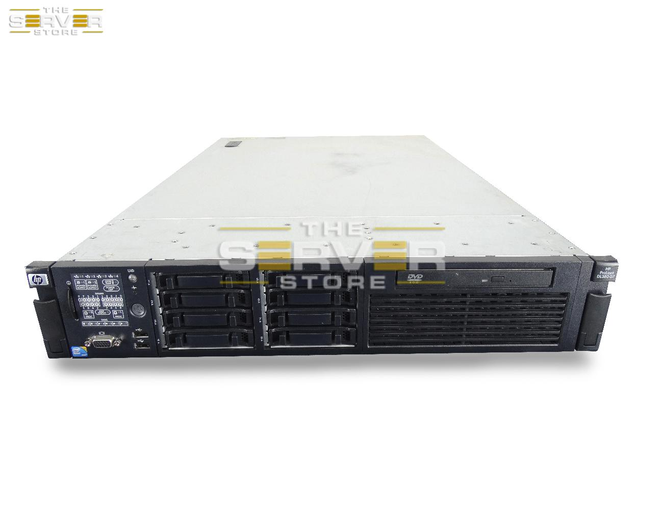 hp dl380 g7 2x e5620 24gb no hard drives p410 array w rails ebay. Black Bedroom Furniture Sets. Home Design Ideas