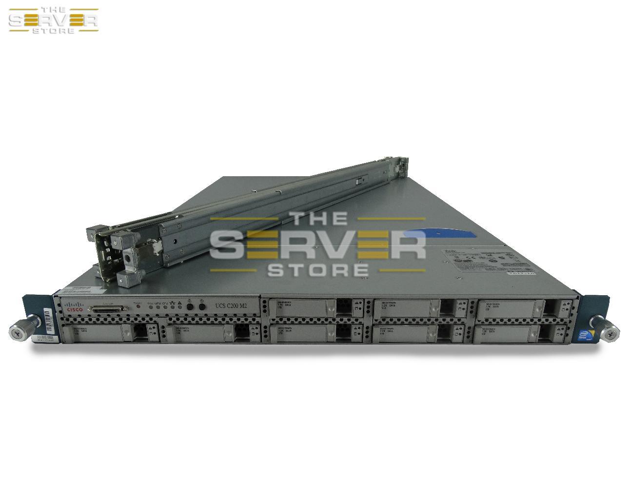 Cisco UCS C200 M2 8x SFF 1U Server