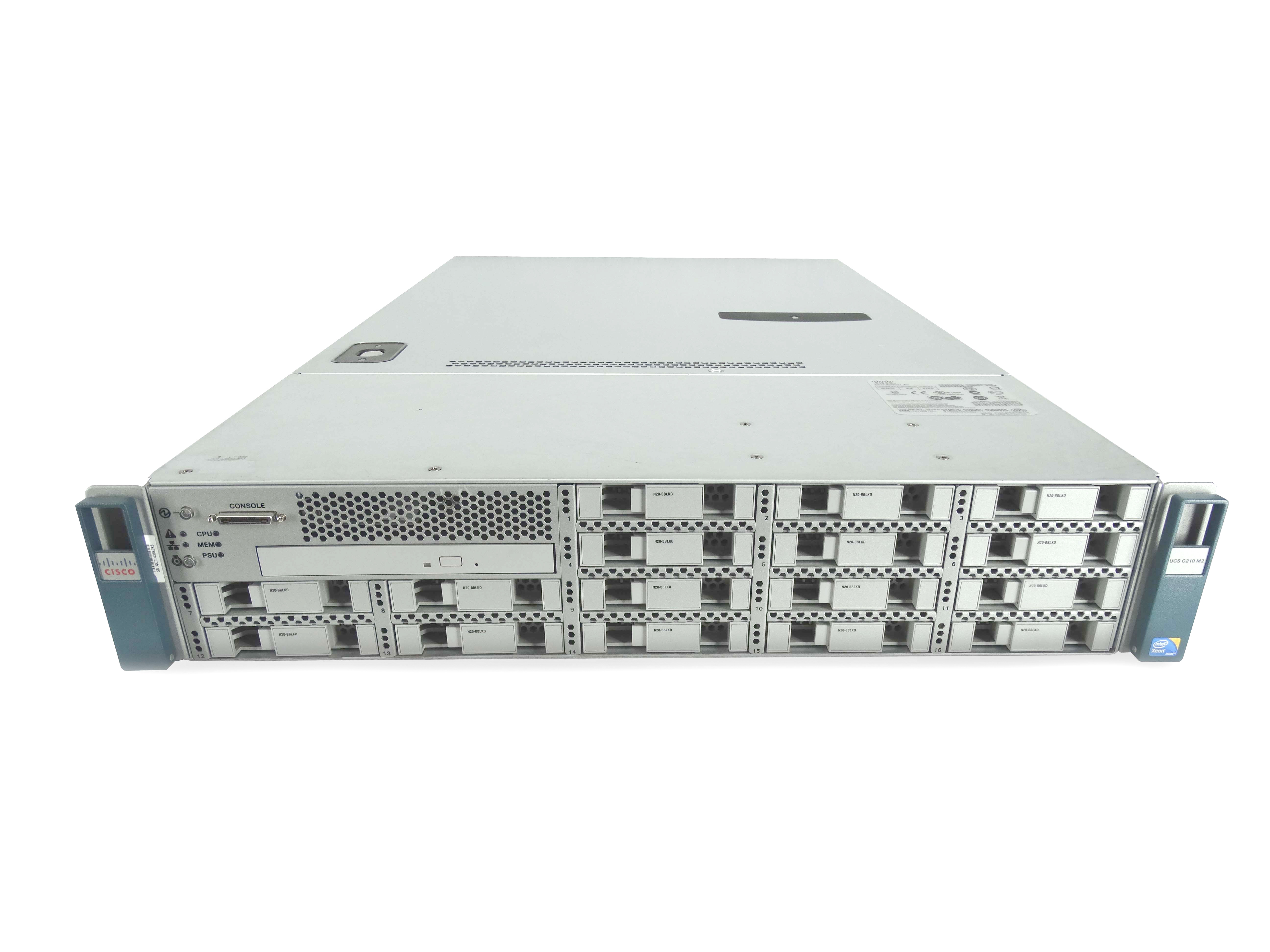 Cisco UCS C210 M2 16-Bay 2U SFF 2U Rackmount Server
