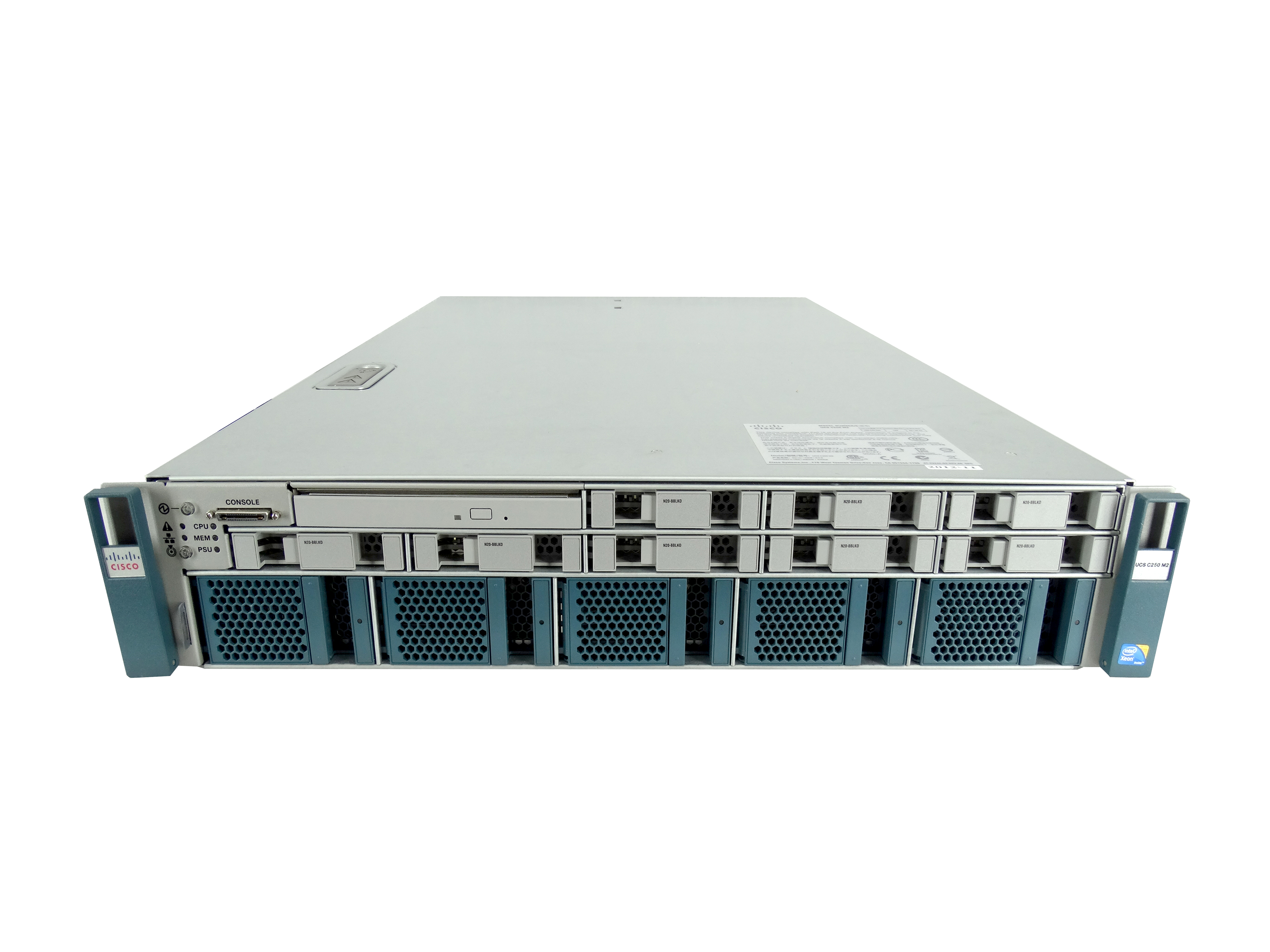 Cisco UCS C250 M2 8-Bay SFF 2U Rackmount Server