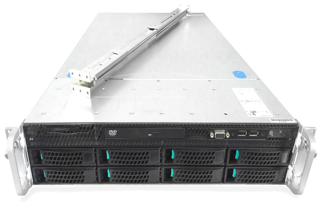 Intel R2308GZ4GC 8-Bay LFF 2U Rackmount Server