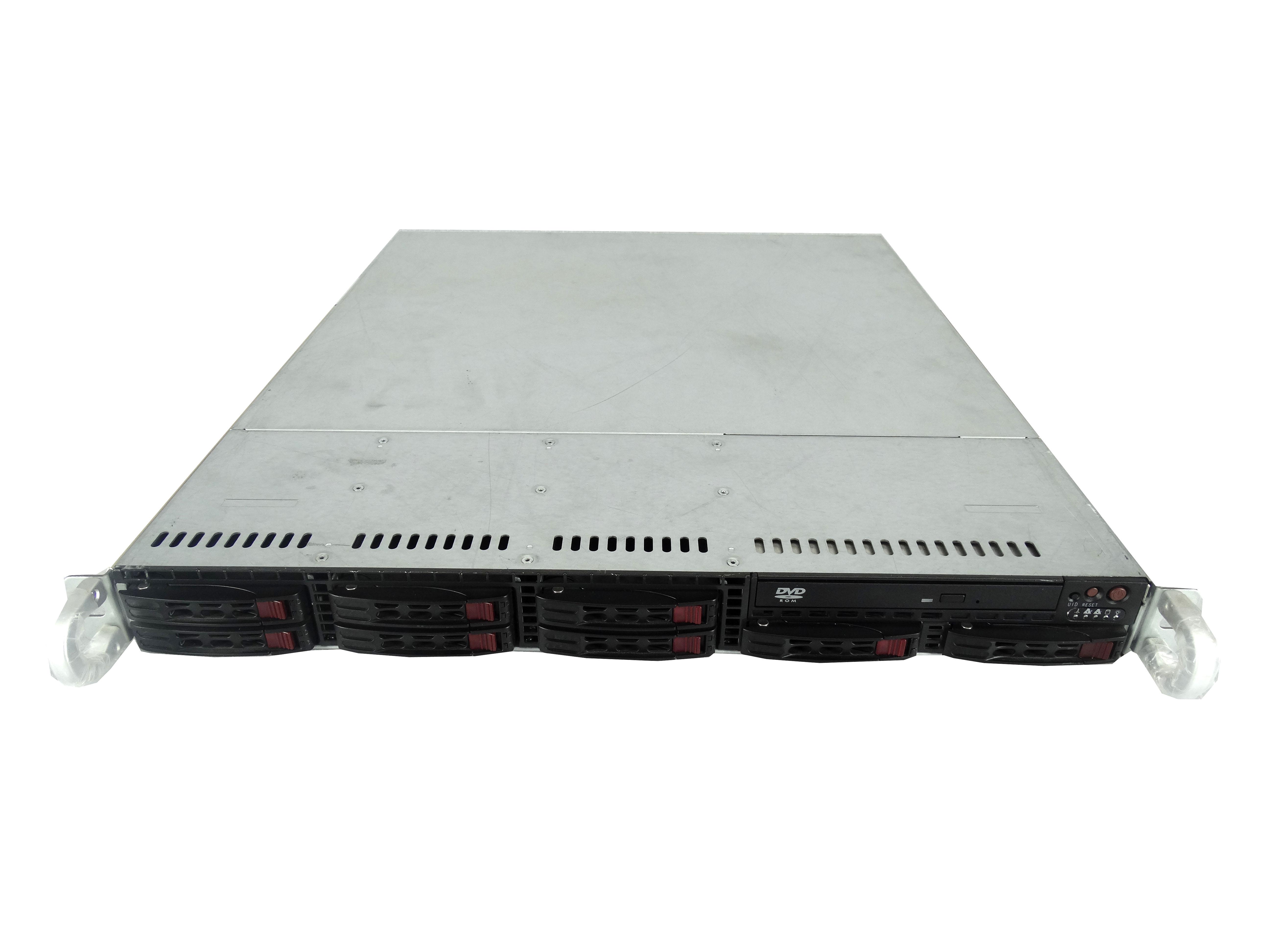 Supermicro SuperChassis CSE-113TQ 8-Bay SFF 1U Rackmount Server
